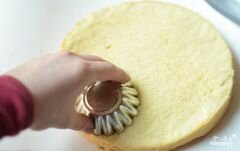 «Бисквитные пирожные» - приготовления блюда - шаг 9