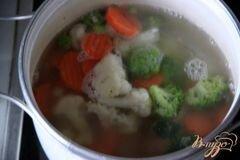 «Быстрый овощной суп с кус-кусом» - приготовления блюда - шаг 1