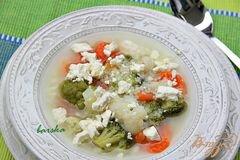«Быстрый овощной суп с кус-кусом» - приготовления блюда - шаг 3