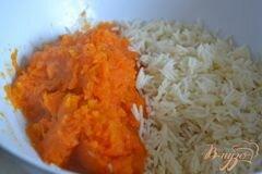 «Тыквенно-рисовые котлетки» - приготовления блюда - шаг 2