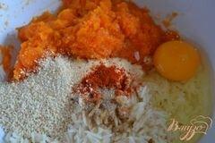 «Тыквенно-рисовые котлетки» - приготовления блюда - шаг 3