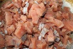 «Горячий рыбный рулет из лаваша» - приготовления блюда - шаг 2