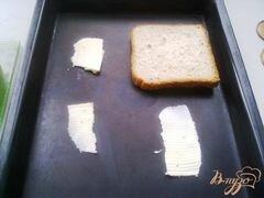 «Горячие бутерброды второй вариант» - приготовления блюда - шаг 4