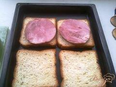 «Горячие бутерброды второй вариант» - приготовления блюда - шаг 5