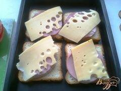 «Горячие бутерброды второй вариант» - приготовления блюда - шаг 6