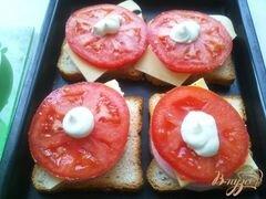 «Горячие бутерброды второй вариант» - приготовления блюда - шаг 7
