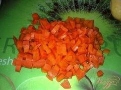 «Мясной салат с хреном» - приготовления блюда - шаг 1