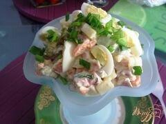 «Мясной салат с хреном» - приготовления блюда - шаг 11