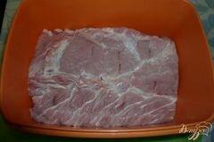«Свинина с бальзамическим уксусом» - приготовления блюда - шаг 1