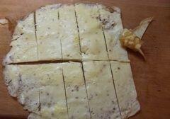 «Теплый салат с омлетом и курицей» - приготовления блюда - шаг 3
