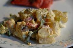 «Салат картофельный Аллилуйя» - приготовления блюда - шаг 3