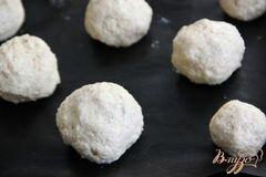 «Мини-булочки с пшеничными хлопьями и начинкой» - приготовления блюда - шаг 5