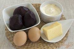 «Салат свекольный» - приготовления блюда - шаг 1