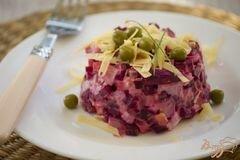 «Салат свекольный» - приготовления блюда - шаг 6