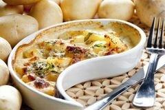 «Треска, запеченная с картофелем» - приготовления блюда - шаг 9
