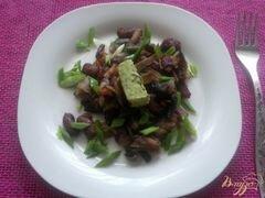 «Фасоль с грибами» - приготовления блюда - шаг 4