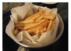 «Картошка фри в домашних условиях с соусом (сливочно-чесночным)» - приготовления блюда - шаг 4