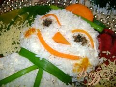 «Салат «Весёлый снеговик»» - приготовления блюда - шаг 9