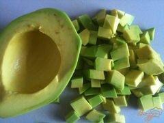 «Овощной салат с хрустящим беконом» - приготовления блюда - шаг 3