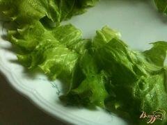 «Овощной салат с хрустящим беконом» - приготовления блюда - шаг 6