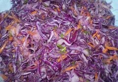 «Капуста с дайконом и морковью» - приготовления блюда - шаг 7