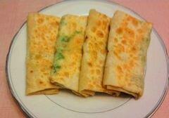 «Блинчики из лаваша с начинкой из шпината и брынзы» - приготовления блюда - шаг 5