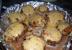 «Запеченные грибочки» - приготовления блюда - шаг 7