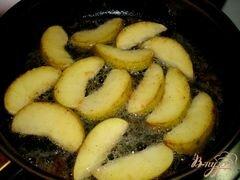 «Печень с яблоками и луком» - приготовления блюда - шаг 2