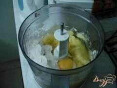 «Кабачковый рулет с опятами» - приготовления блюда - шаг 3