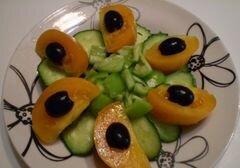 «Овощной салат» - приготовления блюда - шаг 5
