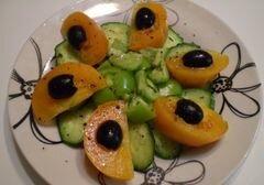 «Овощной салат» - приготовления блюда - шаг 6