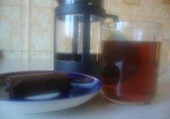 «Китайский пресованый чай» - приготовления блюда - шаг 3
