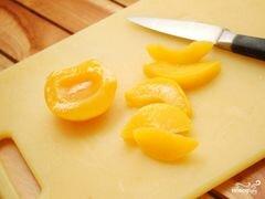 «Десерт с персиками» - приготовления блюда - шаг 1
