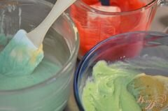 «Фруктовые капкейки» - приготовления блюда - шаг 2