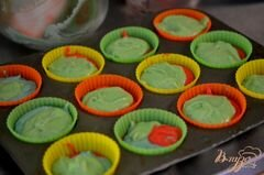 «Фруктовые капкейки» - приготовления блюда - шаг 3