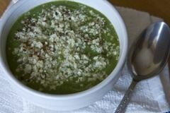 «Суп-пюре из брокколи» - приготовления блюда - шаг 5