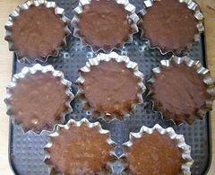 «Шоколадно-банановые кексы, или спасение залежавшихся бананов» - приготовления блюда - шаг 6