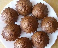 «Шоколадно-банановые кексы, или спасение залежавшихся бананов» - приготовления блюда - шаг 8