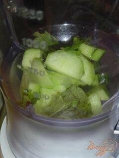 """«Коктейль """"Зеленый эликсир""""» - приготовления блюда - шаг 2"""