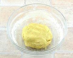 «Творожный пирог с персиками» - приготовления блюда - шаг 3