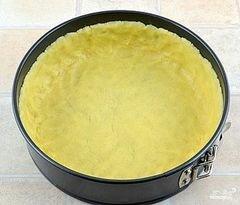 «Творожный пирог с персиками» - приготовления блюда - шаг 4