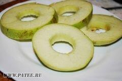 «Яблочки в слоеном тесте» - приготовления блюда - шаг 2