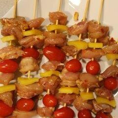 «Пряные Марокканские куриные шашлыки» - приготовления блюда - шаг 4