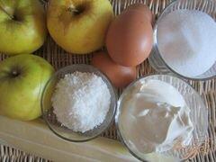 «Пирог с яблоками» - приготовления блюда - шаг 1
