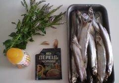 «Рыба жаренная ароматная» - приготовления блюда - шаг 1