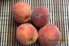 «Замороженные персики» - приготовления блюда - шаг 1