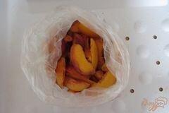 «Замороженные персики» - приготовления блюда - шаг 4