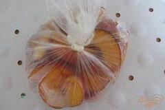 «Замороженные персики» - приготовления блюда - шаг 5