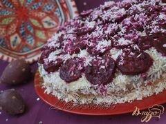 «Торт с...опунцией.» - приготовления блюда - шаг 9