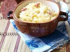 «Пшеная каша с квашеной капустой» - приготовления блюда - шаг 5